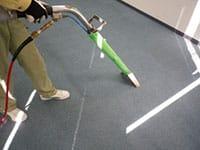スチームカーペット洗浄